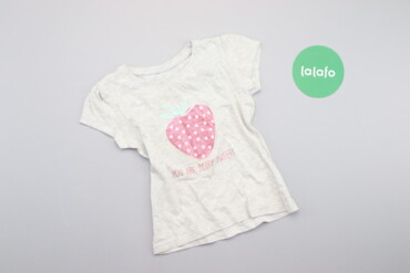 Детская одежда и обувь - Украина: Дитяча футболка з принтом полуниці Primark, вік 2-3 р., зріст 98 см