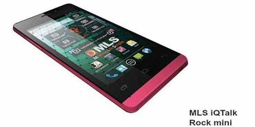 MLS iQTalk Rock Mini Dual Sim 8GB PINK, ΣΤΟ ΚΟΥΤΙ ΤΟΥ σε Nikea