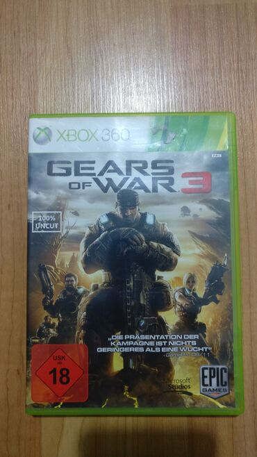 Xbox 360 & Xbox | Srbija: Gears of War 3 Xbox 360  Polovna igra za Xbox 360 koja je testirana i