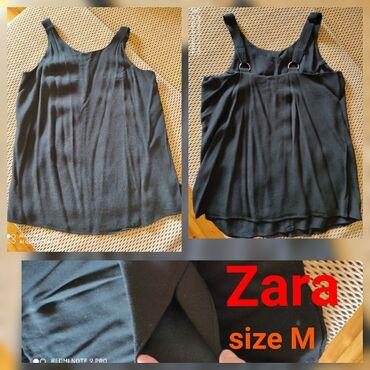 Zara. Б/у. М размер. Черный цвет . 8 манат