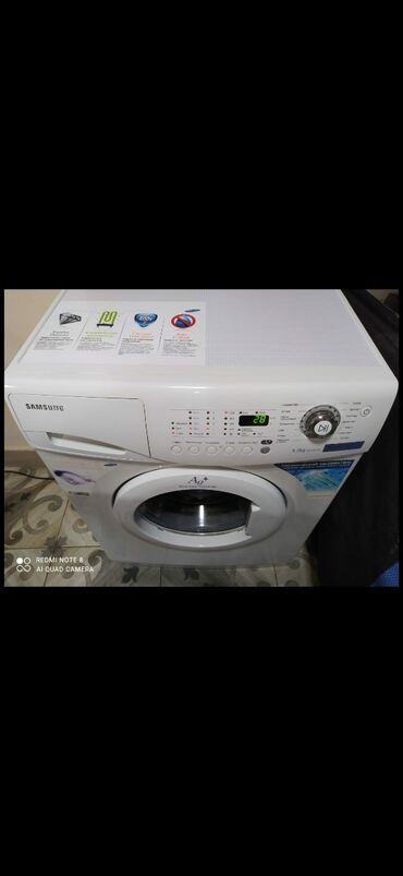 Samsung s 5 - Azərbaycan: Avtomat Paltaryuyan Maşın Samsung 5 kq