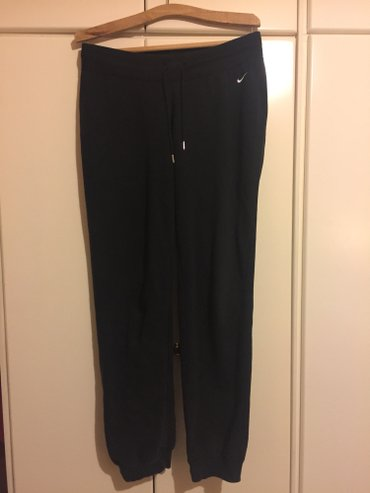 Nike athletic cotton black joggers.Worn several times,good condition Ν в Agia Varvara
