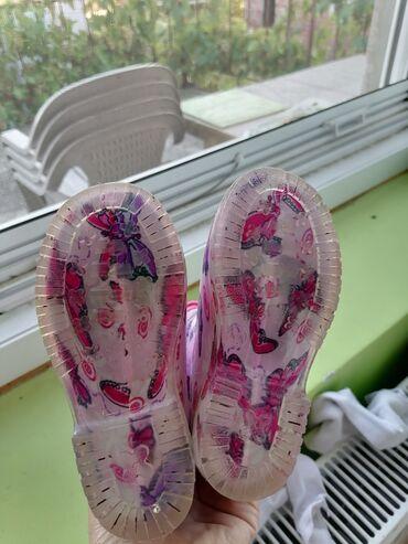Gumene čizme očuvane, postavljene iznutra. Broj24