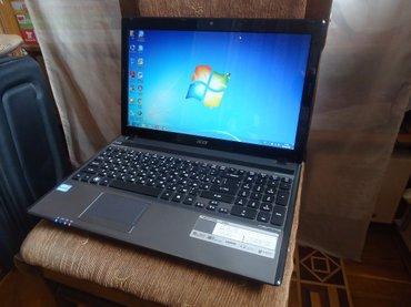 Acer Aspire 5755 (core i3) Noutbuk ideal vəziyyətdədir.Təzə в Баку