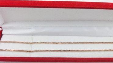 Цепь из красного золота, 585 проба. Длина 54 см. Цена 5800 Сом в Бишкек