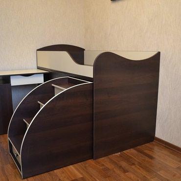 Кровать размер 160/70см , кровать+комод+стол турба в Кок-Ой