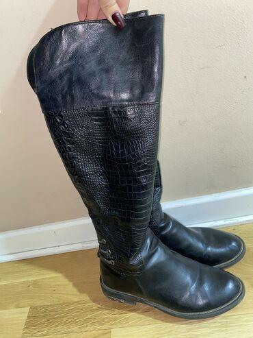 Brushalter crni b - Srbija: Crne dugačke čizme broj 40 Kožne su i veoma dobro očuvane
