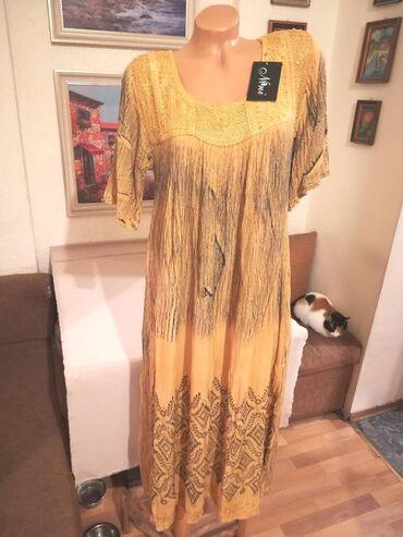 98 oglasa: Nova zenska indijska haljina za punije dame Nini. Indijska. Odlicna in