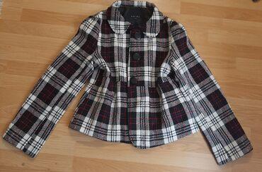 Kaput amisu placen - Srbija: Karirani Amisu kratki kaput je u odlicnom stanju. Velicina je XL
