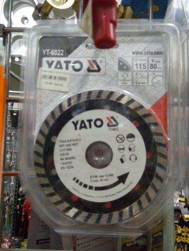 almaz naxış yaradıcılığı üçün uşaq dəsti - Azərbaycan: YATO YT-6022 disk almaz F115 unversal polsa malidi keyfiyyetlidi elana