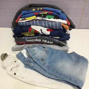 Dečija odeća i obuća - Obrenovac: Dečak uzrasta 2 god  Paket od 12 komada odeće, može i uzrast 1-2 g Pa