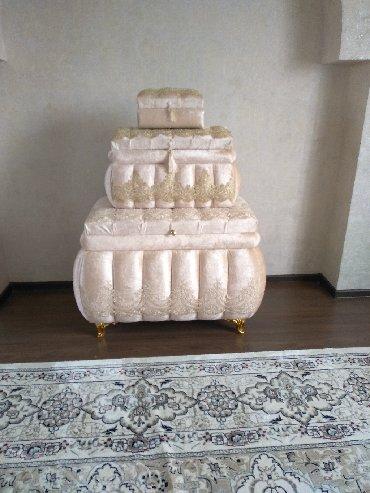 Сундуки подарили на Кыз-узатуу, совсем новые