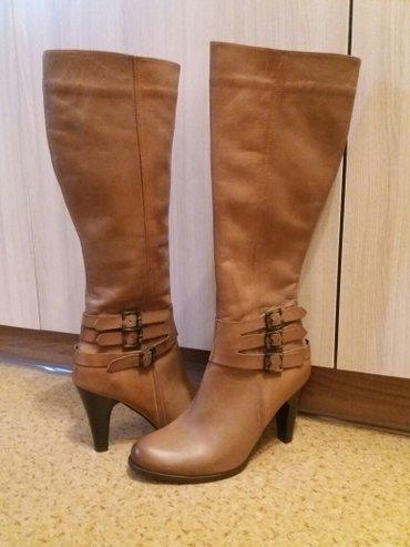 Продаю новые кожаные сапоги (деми), пр-во турция, размер 37 в Бишкек