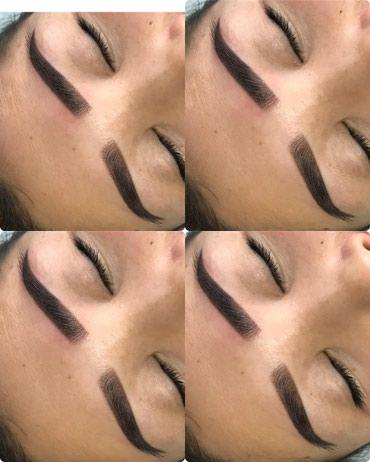 Перманентный макияж бровей (ТАТУАЖ) в Бишкек