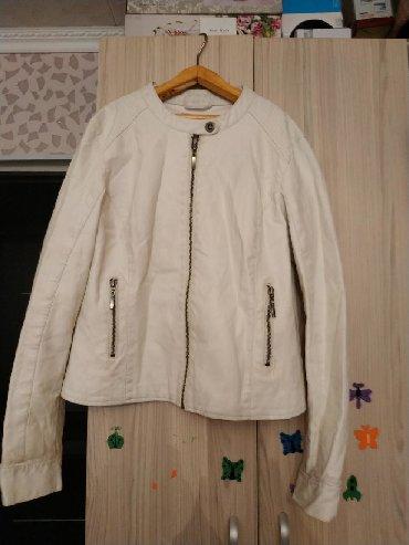 тёплую кожаную куртку в Кыргызстан: Продаю кожаную куртку. размер 46-48