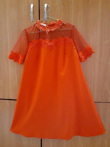 льняные вязаные платья в Кыргызстан: Платье Коктейльное Rosa Thea M