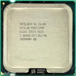 Intel pentium e6600 3. 06 ghz 2nuve lga 775 tam iwlekdir hec bir в Шамкир