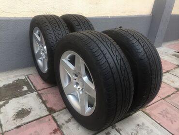 бу резина 2055516 в Кыргызстан: Продаю диски на BMW R16 Диски вместе с резиной, привозные из Германии
