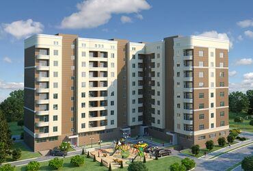 кок-жар-квартира в Кыргызстан: Продается квартира: 1 комната, 43 кв. м