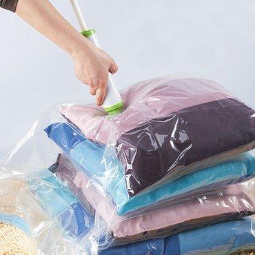 60*80 см вакуумный пакет для одежды и в Бишкек