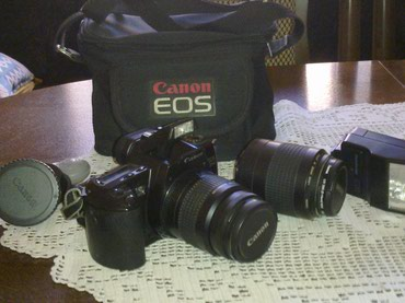 Prodajem fotoaparat canon 3oood na film , sa objektivima 38/76 i - Stara Pazova