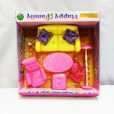 Набор детской мебели - шикарный комплект разноцветных элементов