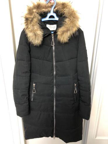 пальто женское зимнее бишкек в Кыргызстан: Продаётся женская зимняя курткаСостояние 8/10Мех съёмныйРазмер