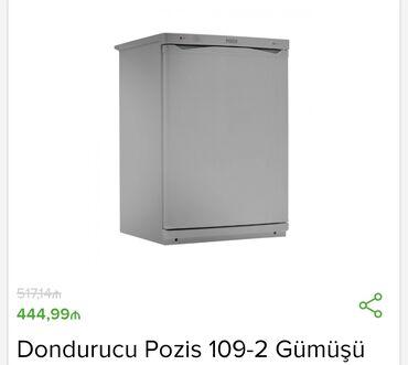 dondurucu - Azərbaycan: İstehsalçı - Pozis Tip - Dondurucu Ölçülər sm - 91x60x61,5 Enerji