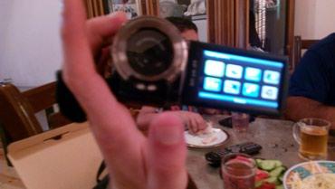 Bakı şəhərində Sony kamera