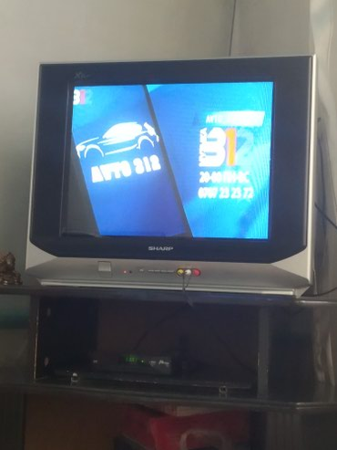 акустические системы sharp колонка в виде собак в Кыргызстан: Продаю телевизор Sharp японская фирма особо не пользовались классный т