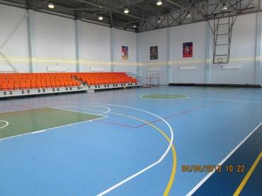 Другое для спорта и отдыха в Кыргызстан: Универсальное резиновое покрытие для футзала из эластично полиуретана