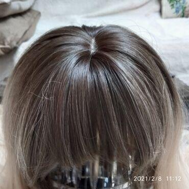 Продам шелковый термо парик 65см. Новый . Можно крутить выпрямлять. От
