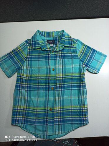"""Рубашка на мальчика фирмы,Place"""". Новая . Возраст 5-7 лет. Куплена в"""