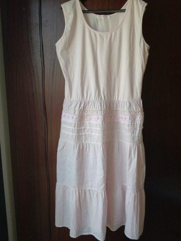 Bebi roze haljina,lagana pamucna,vel:L,novo - Belgrade