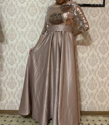 вечерние платья для свадьбы в Кыргызстан: Платье подружки невесты один раз одевали на свадьбу. Размер 44-46