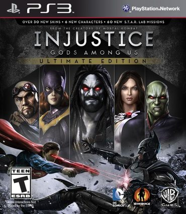 PS3 (Sony PlayStation 3) Azərbaycanda: Injustice: gods among us - ultimate edition ps3