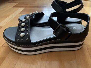 Catwalk sandale eko koža broj 40, gaziste 26 cm, NOVO. Sandale u