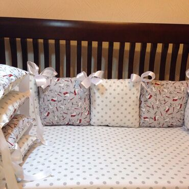 Акция на бортики подушки