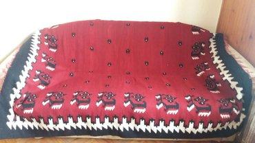 Cilim rucno tkan,vuna,star 50 godina,195×150 - Krusevac