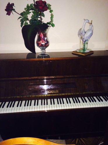 """Bakı şəhərində Pianino """"scholze"""" almaniya. Ela veziyyetdedi. Negd aliciynan qiymetde"""