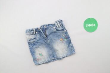 Другие детские вещи - Б/у - Киев: Дитяча джинсова спідниця     Довжина: 25 см Напівобхват талії: 25 см Н