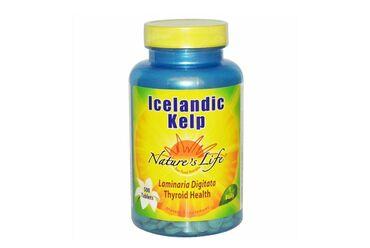 бур в Кыргызстан: Icelandic Kelp (Исландские бурые водоросли), 500 таблетокПитательная