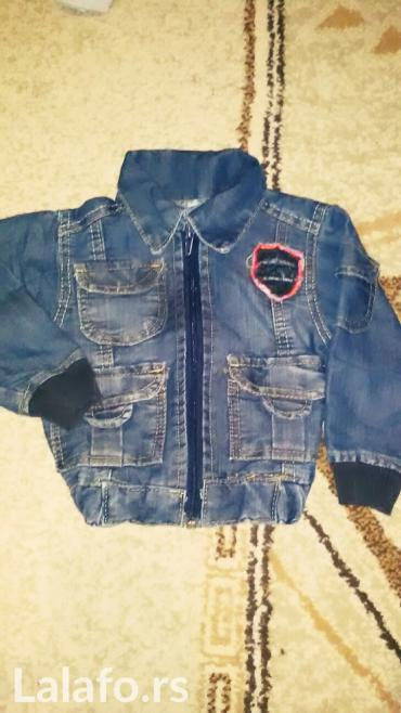 Decija teksas jakna za bebe - Kragujevac