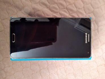 Samsung a7 2015 - Азербайджан: Б/у Samsung A7 16 ГБ Синий
