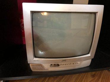 Телевизор японский JVC + DVD JVC + подставка в Бишкек