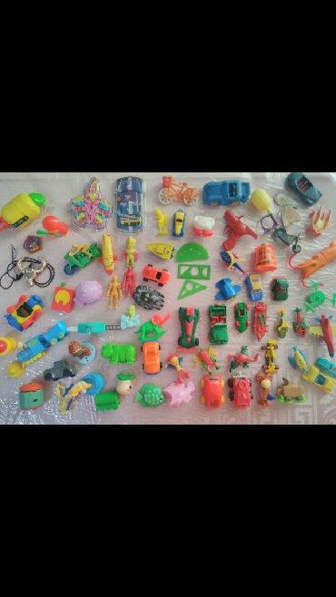 - Azərbaycan: Kinder oyuncaglar 7azn
