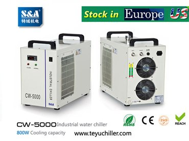 S&A CW-5000 water chiller for cooling dental CNC engraving in Kathmandu