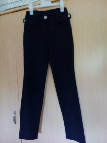 D&G crne pantalone sa visokim strukom  - Nis