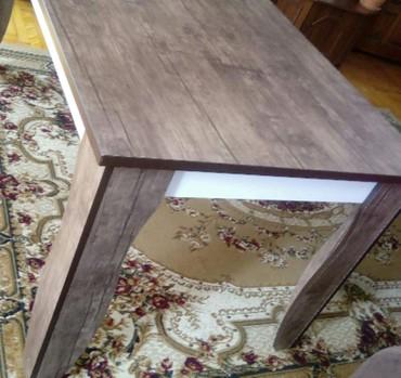 деревянный кухонный стол в Азербайджан: Обедденный стол, новый, 2 раза накрывала, очень качественный