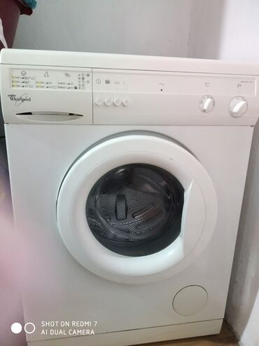 турбо кг в Ак-Джол: Фронтальная Автоматическая Стиральная Машина Whirlpool 5 кг